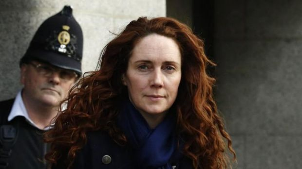 """""""That phrase I did not use"""": Rebekah Brooks at London's Old Bailey this week, where she denied all knowledge of phone ..."""