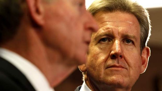Shutting out the public: Premier Barry O'Farrell, yet to give the public input on a probity check on Crown.