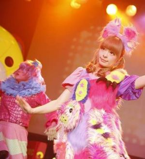 Kawaii kingdom: Kyary on stage in Seattle last month