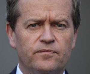 Boxing on: Bill Shorten wants to extend voting rights.