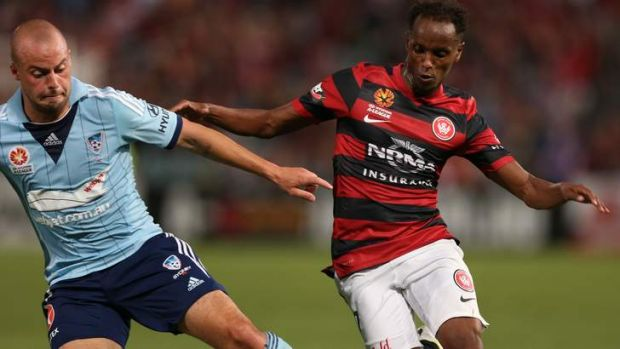 A Wanderer no more? Youssouf Hersi would like to stay in the west and mentor young players.