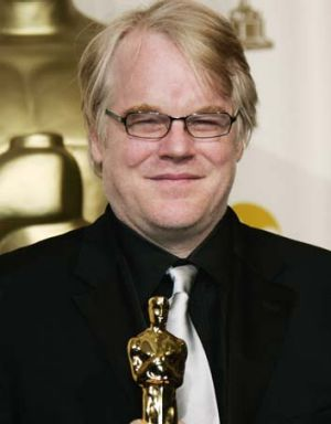 Much-loved: Philip Seymour Hoffman.