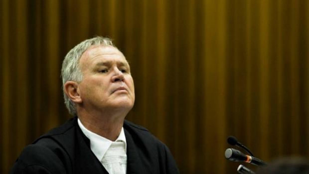 Attacking the accounts of witnesses ... Barry Roux, legal representative for Oscar Pistorius.