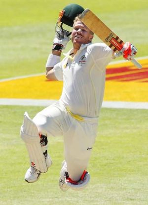 Opening up: David Warner says he likes being sledged. But does he?