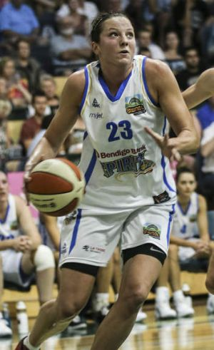Kelsey Griffin of Bendigo Spirit.