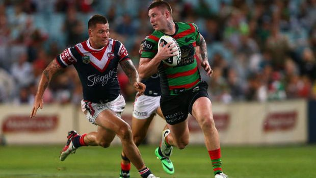 The faster pace of the game took its toll on the Roosters in the second half, with the Rabbitohs able to exploit gaps ...