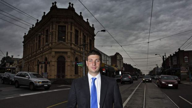 Tim Smith, the Liberal candidate for Kew. Photo: Meredith O'Shea