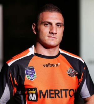 Moving on: Tigers Robbie Farah.