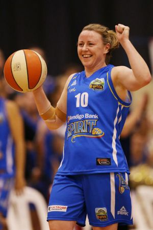 Season best: Kristi Harrower scored 22 points.