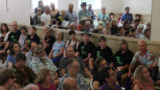 Rally together: Supporters of the Randwick Literary Institute met on Sunday to voice their concerns about the centre's ...