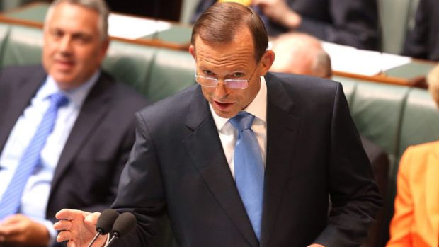 """The people of South Australia want a premier that works with Canberra"": Prime Minister Tony Abbott rallies support for ..."