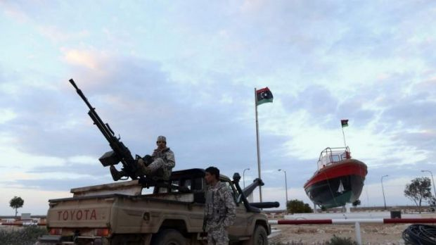Rebels under Ibrahim Jathran, a former anti-Gaddafi rebel who seized the port and two others with thousands of his men ...