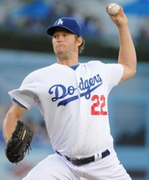 In Sydney for starters: Clayton Kershaw.
