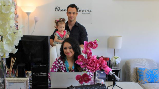 Jellaine Ross from Cherry Blooms has created a global enterprise by running her business in a smart, efficient way.