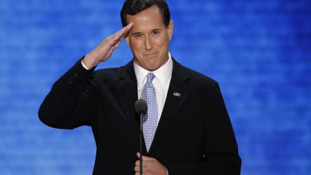 Former Republican US presidential Rick Santorum says the GOP could learn from ''hardliner'' Tony Abbott's success.