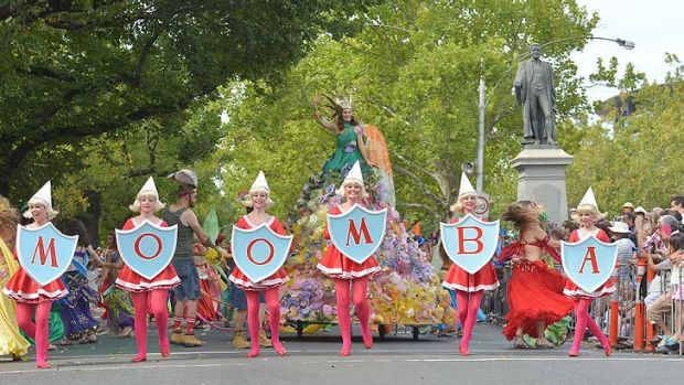 Spelling it out: 60 years old but there's no slowing Moomba down.
