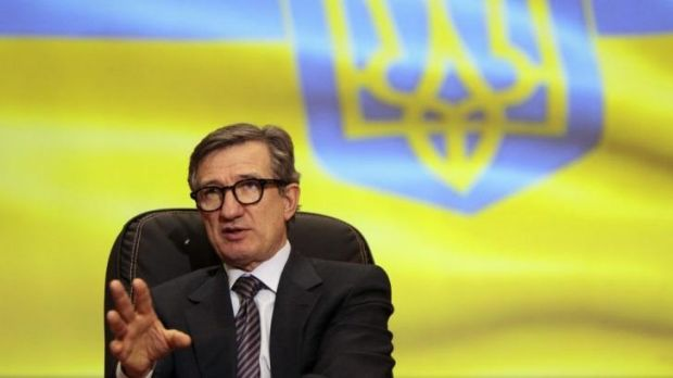 Sergei Taruta, an industrialist who is now governor of the Russian-speaking Donbass region.