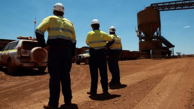 Jobs at Rio Tinto: Employers in the resources sector are also affected, according to the modelling.