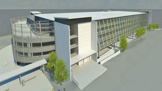 REVENUE RECOVERY: An artist's impression of the new Calvary Hospital car park.