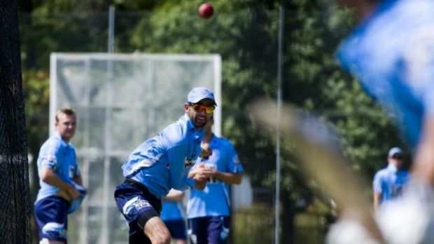 Former Manuka Oval curator and Australian Test spinner Nathan Lyon will line up for NSW in the Sheffield Shield match ...