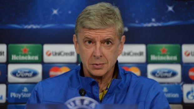 Arsene Wenger speaks before Arsenal's Champions League clash with Bayern Munich.