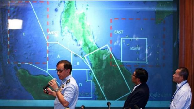 Major General Datuk Affendi Buang briefs the media over latest updates on the missing plane.