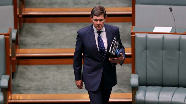 Social Services Minister Kevin Andrews says he has yet to see the Commission of Audit report and recommendations.