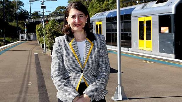 In the firing line: Transport Minister Gladys Berejiklian's new fare policies under the Opal smartcard have raised ...