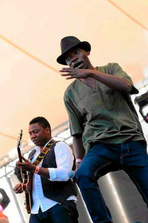 Zimbabwe's Mokoomba tackle typical southern African issues on one of WOMADelaide's seven stages.