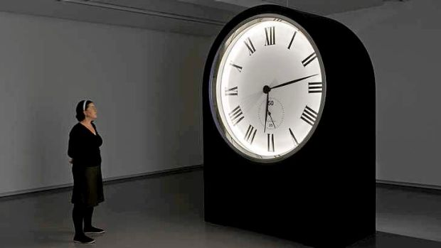 Stuart Ringholt distorts time with an 18-hour clock.