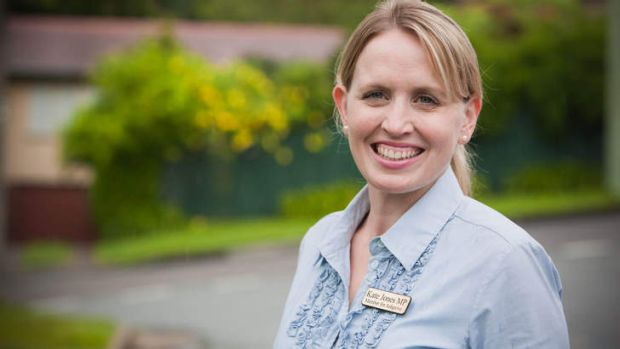 Former Ashgrove MP Kate Jones is yet to decide whether she will challenge Premier Campbell Newman in the west Brisbane ...