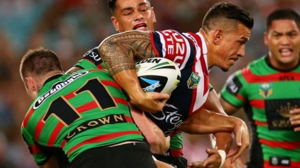 Sidelined: Sonny Bill Williams will miss three games for the Roosters.