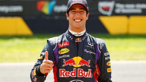 Ricciardo's bright smile and affable public demeanour have prompted questions about whether he has the necessary ...