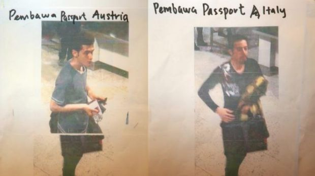 Two men who boarded the Malaysia Airlines flight using stolen passports. The man on the left has been identified as ...