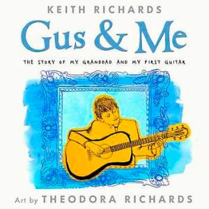 The Richards' upcoming children's bok <i>Gus & Me</i>.