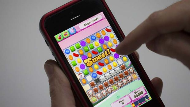 Candy Crush Saga is big on mobile.