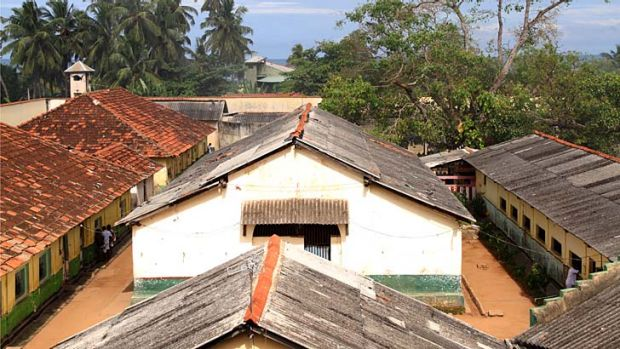 Negombo Prison on Sri Lanka's west coast, where most of the failed asylum seekers returned from Australia are sent.
