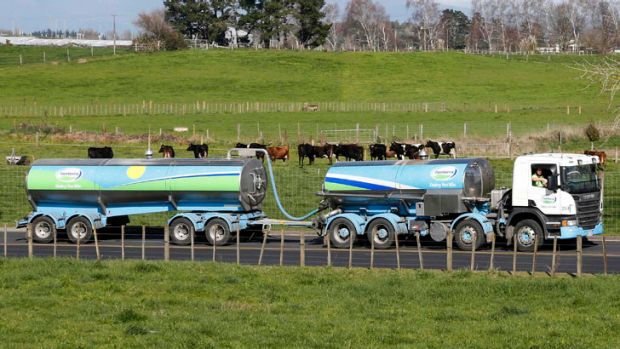 New Zealand's milk run now extends right across Asia.