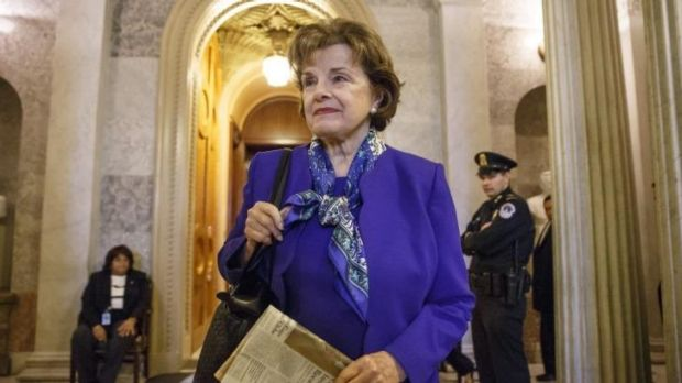 Accused CIA: California senator Dianne Feinstein, head of the US Senate intelligence committee.