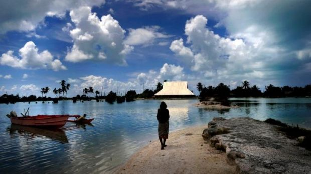 Rising tides: Climate change is a major concern for Pacific island nations.