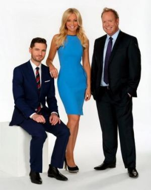 The Project's current co-hosts ... Charlie Pickering, Carrie Bickmore and  Peter Helliar.