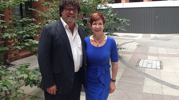 Former ABC broadcast stalwarts Russell Woolf and Verity James will contest the Senate byelection in WA.