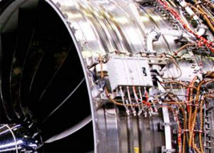 This shot from Boeing's website shows the equipment hidden beneath the engine's casing.
