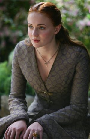 If only Sansa Stark had little sister Arya's gumption.