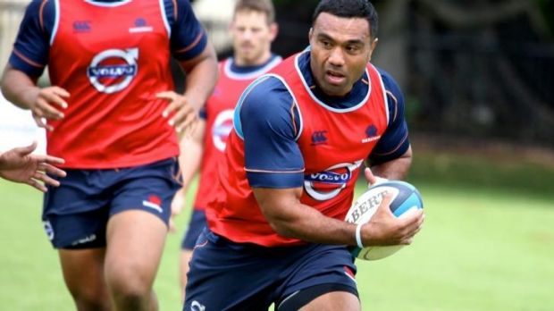 Taking nothing for granted: Wycliff Palu.