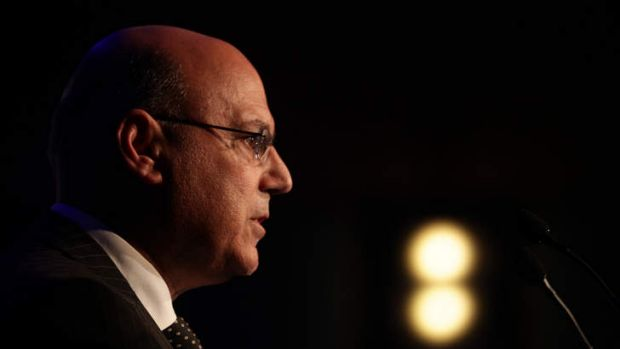 """It is not like (customers) get signed up on the spot"": Federal Assistant Treasurer Arthur Sinodinos."