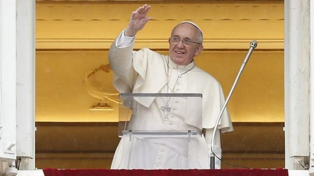 Popular: Pope Francis, in St Peter's Square earlier this month, has marked his first anniversary in a Lenten reflection.