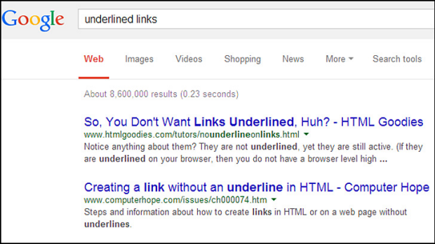 Google Links