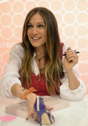 Sarah Jessica Parker launches her shoe line at Nordstrom.