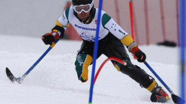 Toby Kane is Australia's first medal-winner of the Sochi Winter Paralympics.